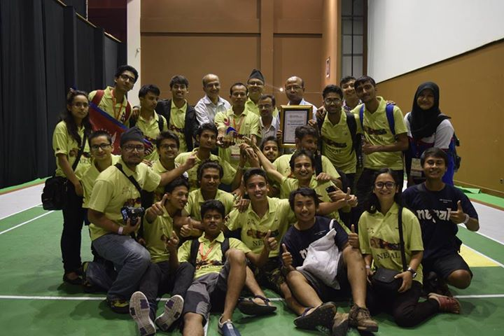 Team Nepal Shines at ABU Robocon 2015