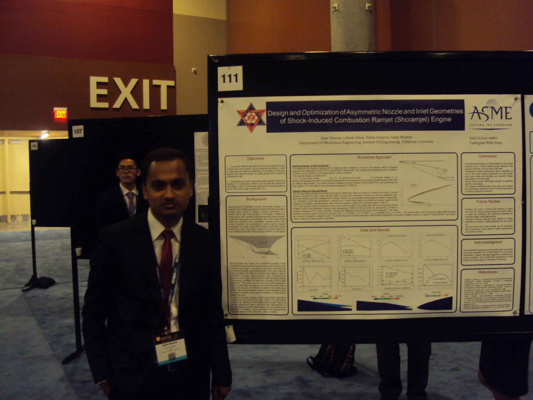 DME student attends the ASME IMECE 2016 multidisciplinary conference in Phoenix, Arizona