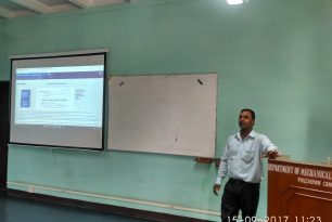 Workshop on Research Paper Writing and Induction Program from IMAC Engineering Japan Held at DME