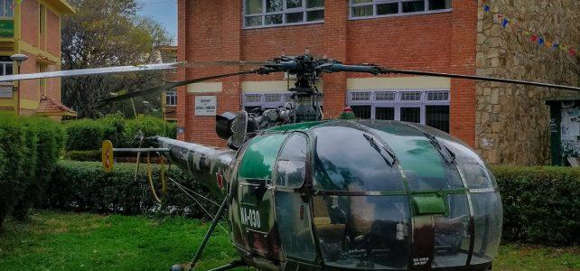 Nepali Army Air Services donates  Aérospatiale Alouette III / HAL Chetak to IOE Pulchowk