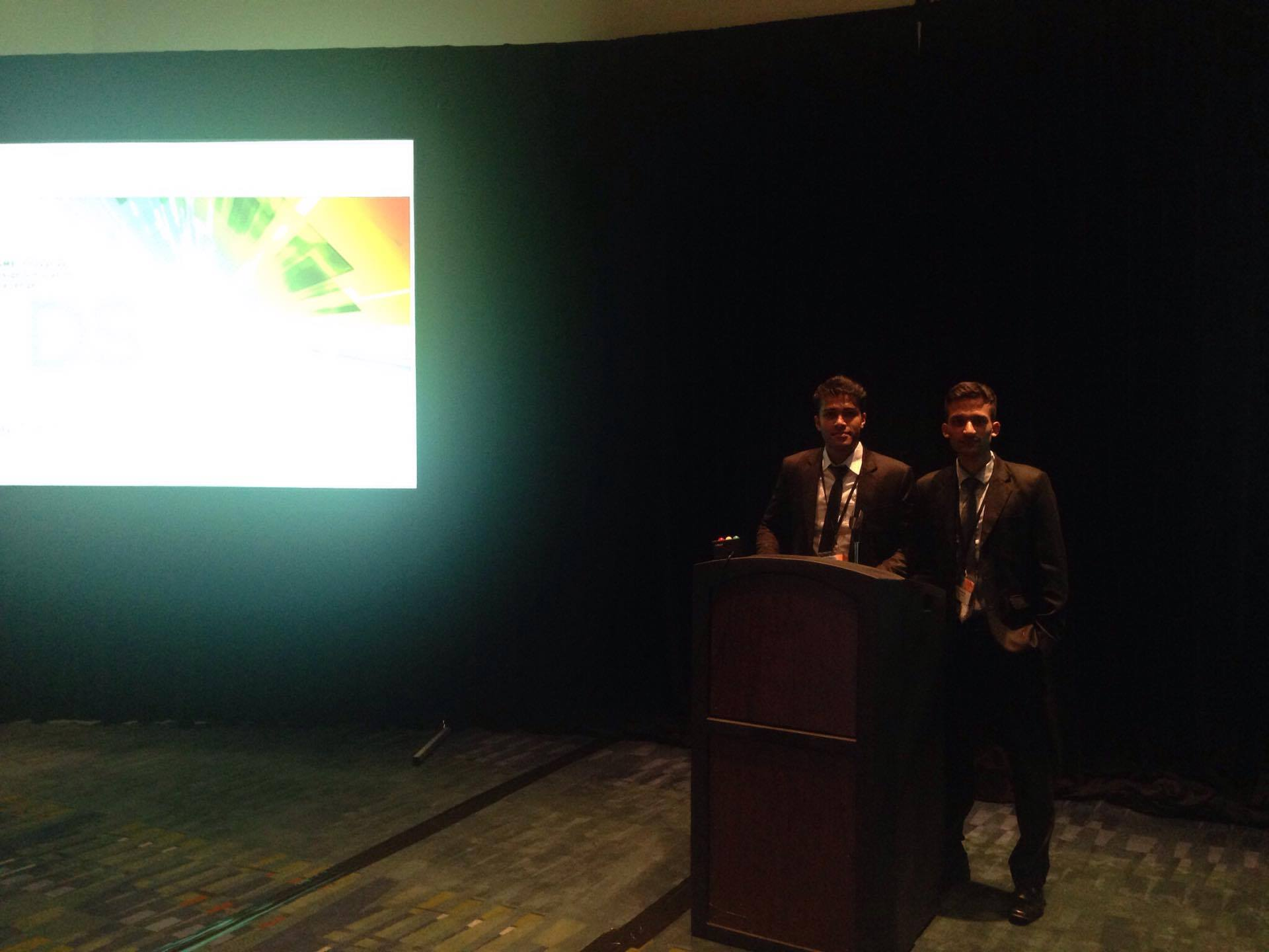 DME students attend the ASME IDETC/CIE conference in NC, United States