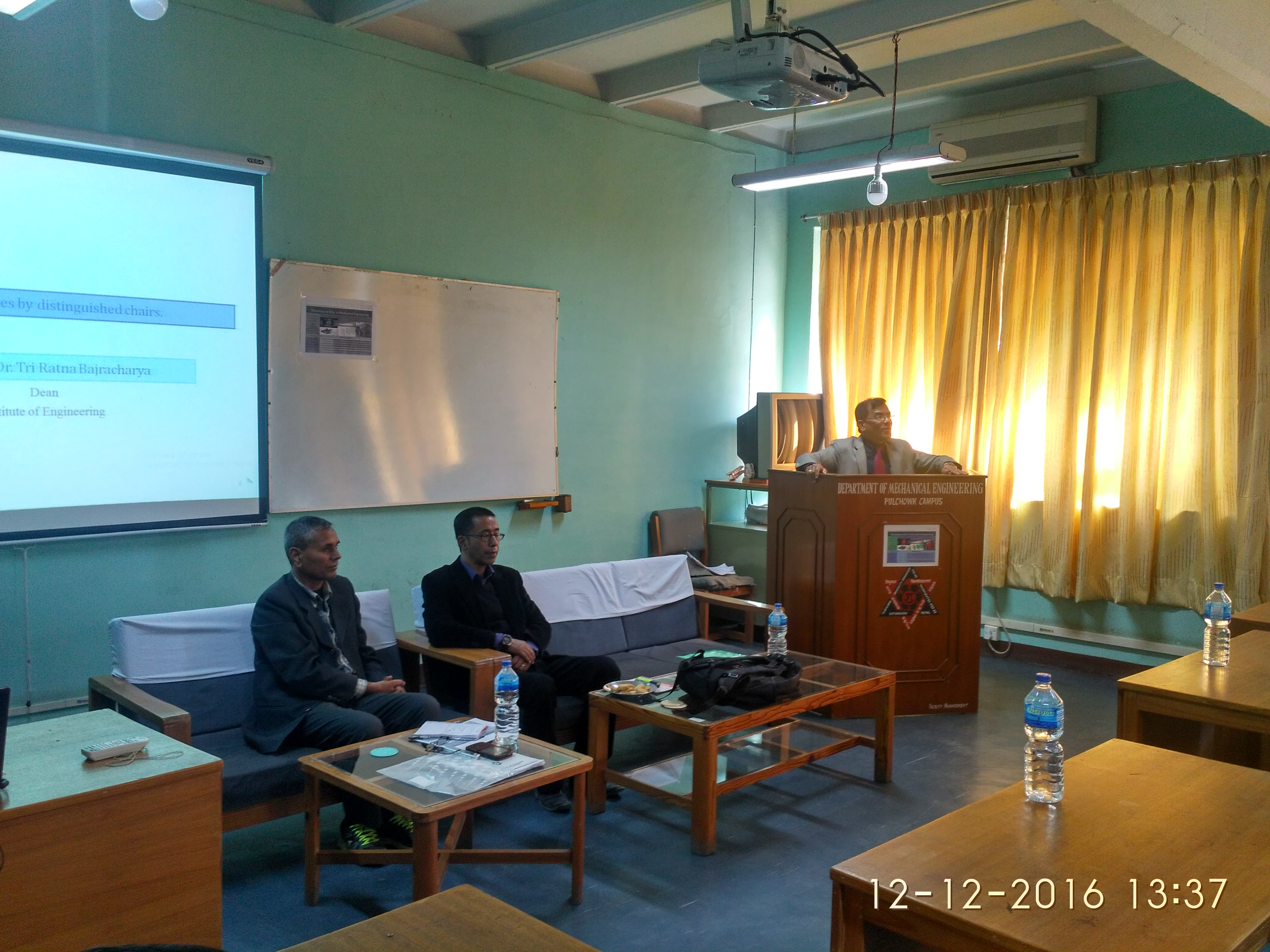 Workshop on the proposed M.Sc. in Mechanical Engineering program