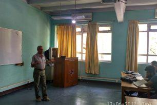 Interaction Program with Senior Captian Y.K. Bhattarai, Nepal Airlines Corporation